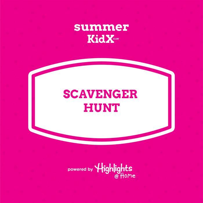 Scavenger prizes mall hunt Mall Photo